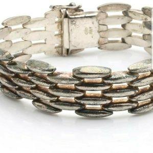 Sterling silver bracelet Italian